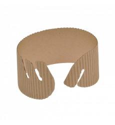 Манжета на стакан (cupholder) картон 2-слойная без печати (50 шт./уп.)
