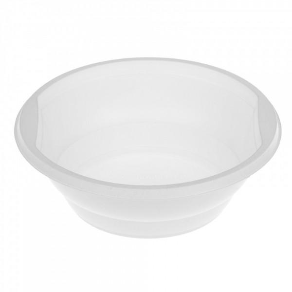 Тарелка суповая d-150 мм, 600 мл, ПП белая (50 шт./уп.)