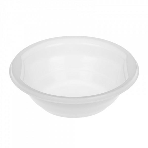 Тарелка суповая d-150 мм, 475 мл, ПП белая (50 шт./уп.)