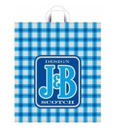 Пакет 42*38 см, 37 мкм с петлевой ручкой ПНД цветной J&B (25 шт./уп.)