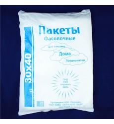 Пакет фасовочный 30*40 см, 10 мкм, пласт (500 шт./уп.)