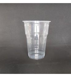 Стакан 500 мл ПП для пива прозрачный ФАКЕЛ (100 шт./уп.)