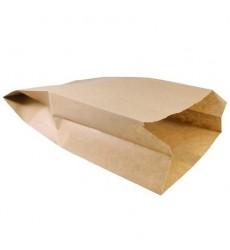 Пакет 300*170*70 мм бумажный без ручек крафт без печати (100 шт./уп.)