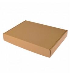 Коробка для пирога 390*250*60 серая