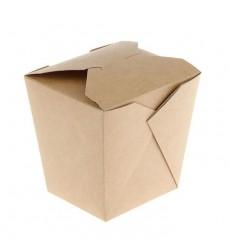 Коробка 460 мл (102*89*102 мм) склеенная для лапши-вок ECO NOODLES