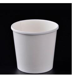 Контейнер 500 мл (d98*d72*h99 мм) суповой бумажный белый