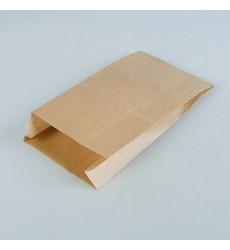 Пакет 350*200*90 мм бумажный без ручек крафт без печати (100 шт./уп.)