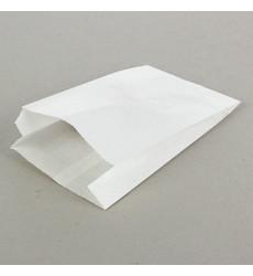 Пакет 225*140*60 мм VB бумажный без ручек белый без печати (100 шт./уп.)