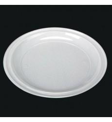 Тарелка d-205 мм белая (100 шт./уп.)