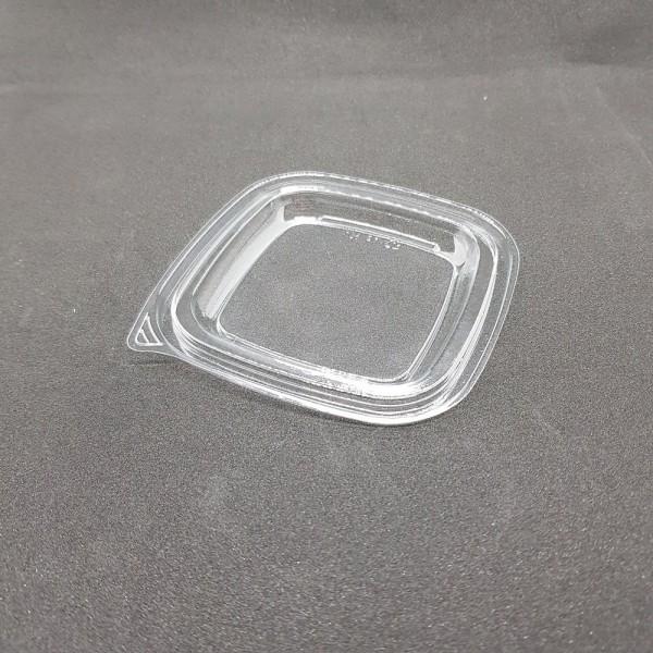 Крышка 1212 ПП (126*126*5 мм) к контейнеру 500 мл 1212 ПП прозрачная (50 шт./уп.)
