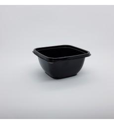 Контейнер 500 мл 1212 ПЭТ (126*126*60 мм) черный (50 шт./уп.)