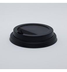 Крышка d-73 мм для горячих напитков GS-73 черная (50 шт./уп.)