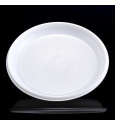 Тарелка d-165 мм десертная белая (100 шт./уп.)