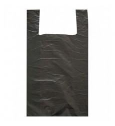 Пакет-майка 30*55 см, 20 мкм цветной (черный) (100 шт./уп.)