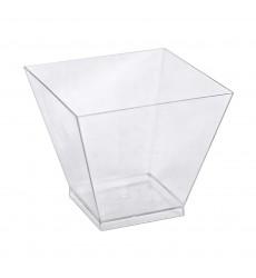 Креманка фуршетная 120 мл (чашка) ПС прозрачная 5032 ПАГОДА (25 шт./уп.)